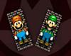 Mario vs Luigi Pong
